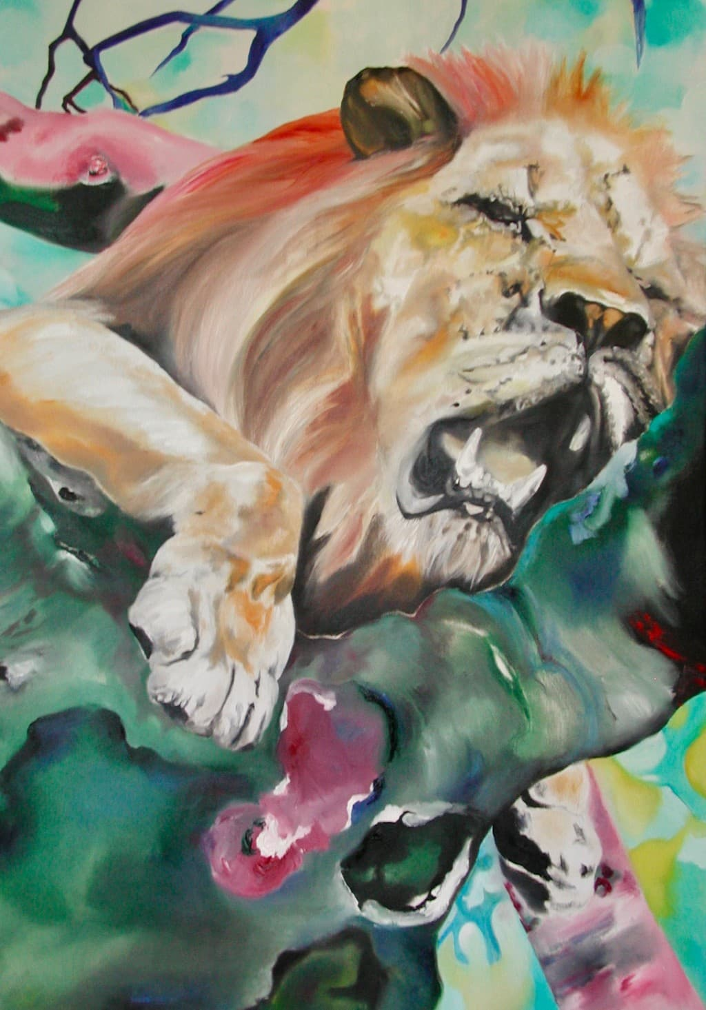 Regenbogen Löwe
