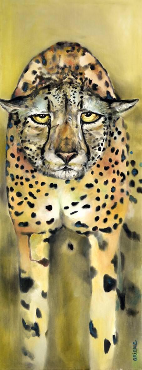 Geparden Säule