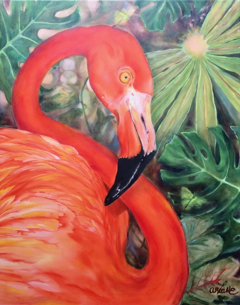 Flamingopause